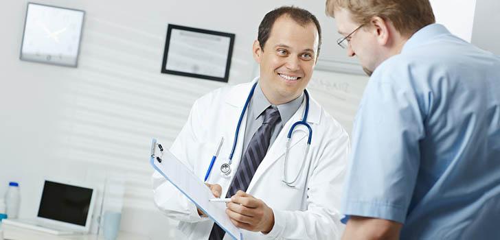Пациент на приеме уролога